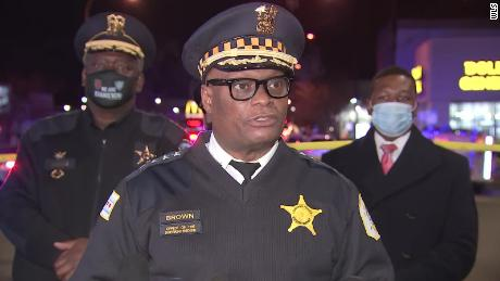 Chicago Police Superintendent David Brown says no motive has yet been established.