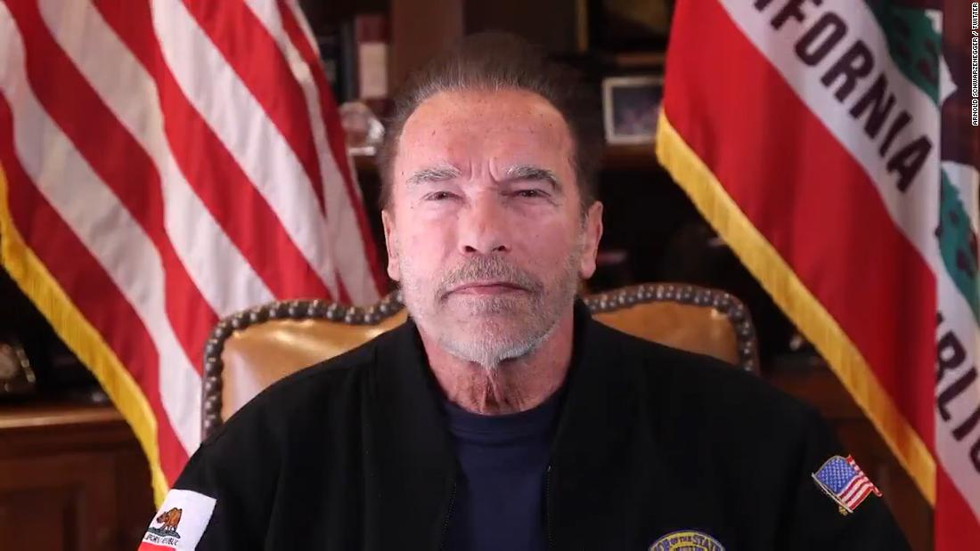 Arnold Schwarzenegger says Trump is a 'failed leader' and urges unity after  Capitol siege - CNNPolitics