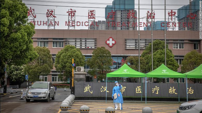 Wuhan's Jinyintan Hospital is the world's first medical facility designated to treating Covid-19 patients.
