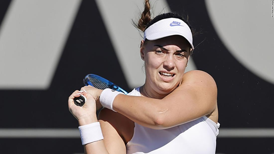Ana Konjuh closes in on grand slam return with battling Australian Open qualifying win