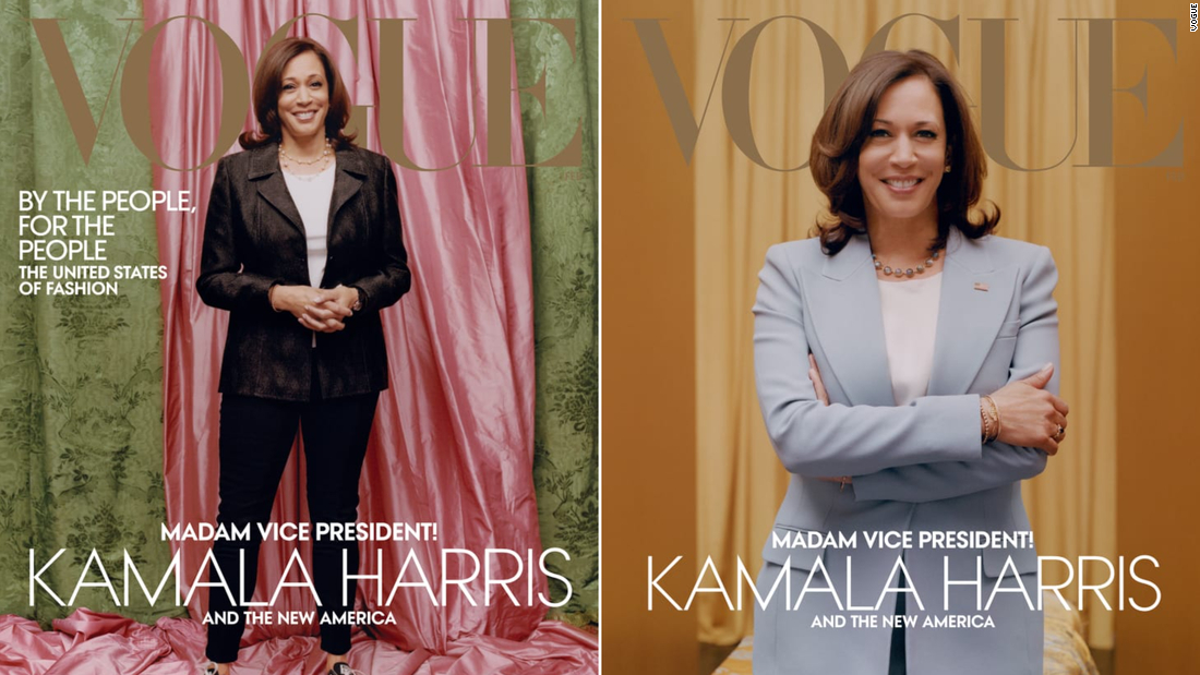 Vogue editor defends controversial Kamala Harris cover