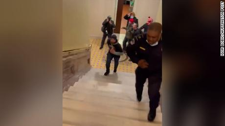 Rioter who followed Capitol Police Officer Goodman away from Senate chamber released to home confinement