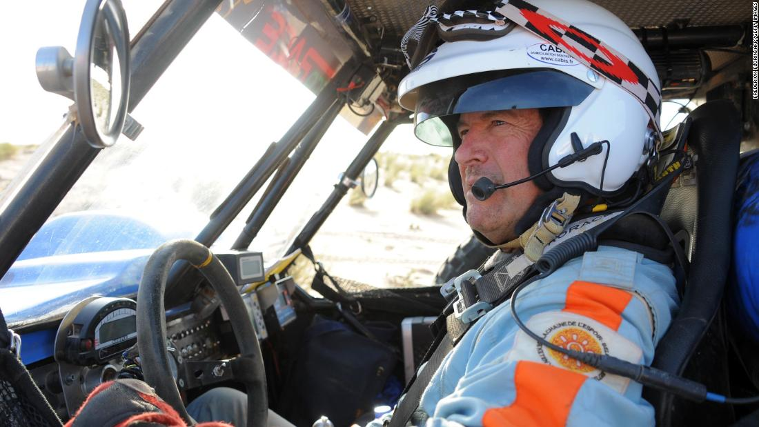 Dakar Rally legend Hubert Auriol, who won the race three times, has died