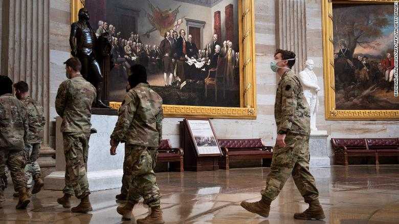Former Army secretary says DC National Guard had no plan ahead of Capitol riot beyond local traffic control