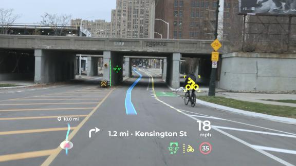 Panasonic's Augmented Reality Heads-up Display