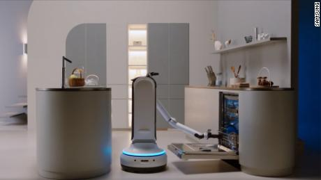 Samsung's Bot Handy robot helps with household chores