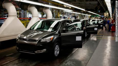 Ford shuts down a plant because it can't find enough computer chips