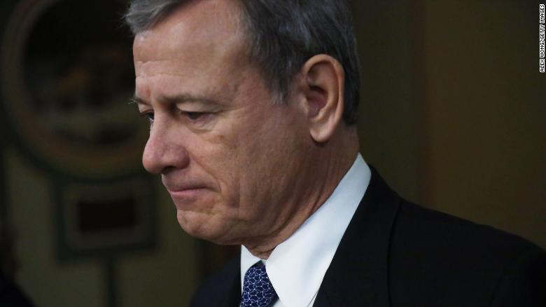 Chief Justice John Roberts has received both doses of Covid vaccine, court says