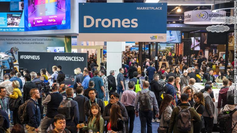 In January 2020, the CES conference was estimated to have drawn 170,000 attendees to Las Vegas and generated $169 million in direct spending and a broader economic impact of $291.2 million. (Mark Damon/Las Vegas News Bureau)