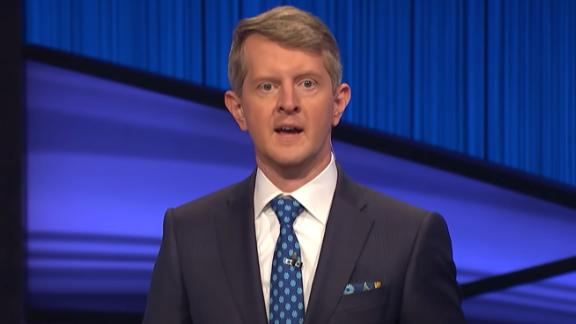 Ken Jennings hosts Jeopardy! on Monday, January 11, 2021.