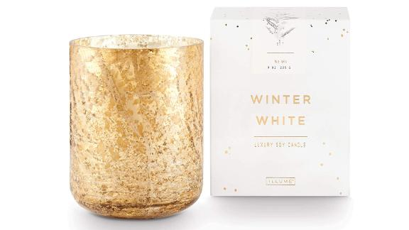 Illume Noble Holiday Collection Winter White Candle