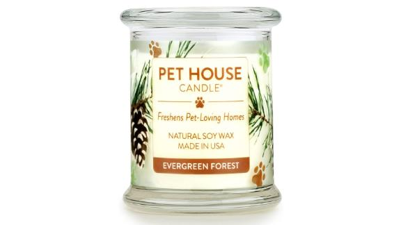 Pet House by One Fur All Evergreen Forest Candle