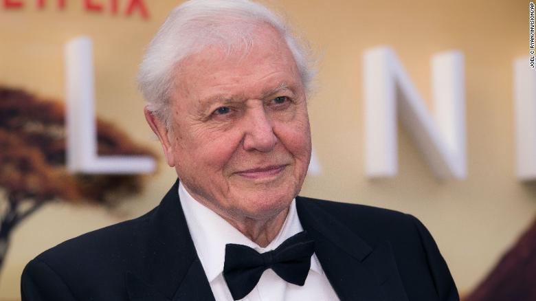 British broadcaster David Attenborough receives Covid-19 vaccine