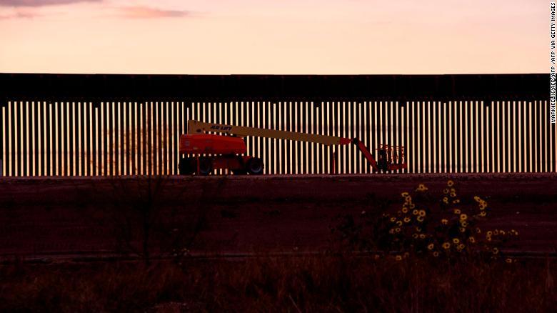 Greg Abbott's fight to keep Trump's border wall dream alive