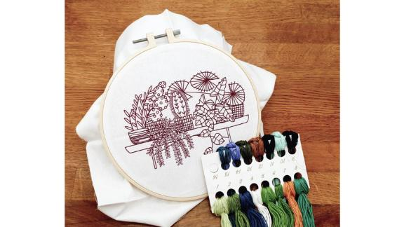 MindxYourxCraft Hand Embroidery Kit for Beginners