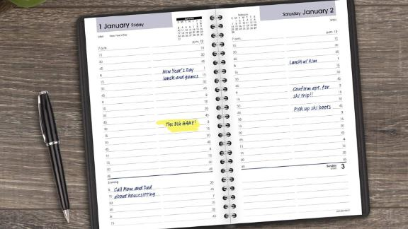 At-a-Glance 2021 Daily Appointment Book & Planner