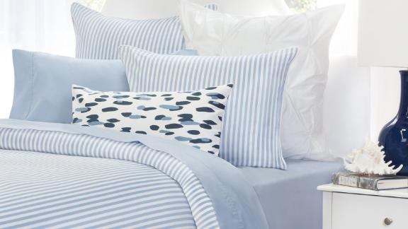 The French Blue 400-Thread-Count Sheets