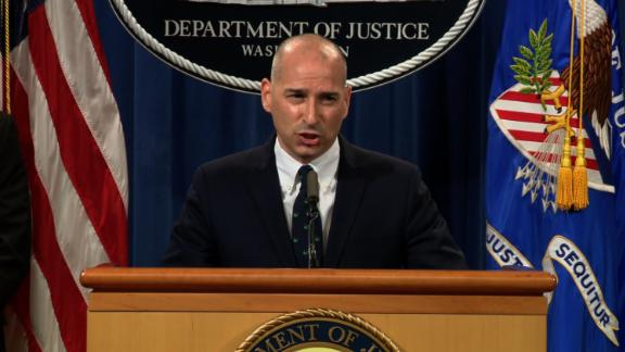 Acting U.S. Attorney Michael Sherwin for the District of Columbia speaks at a press conference on Tuesday, January 12.