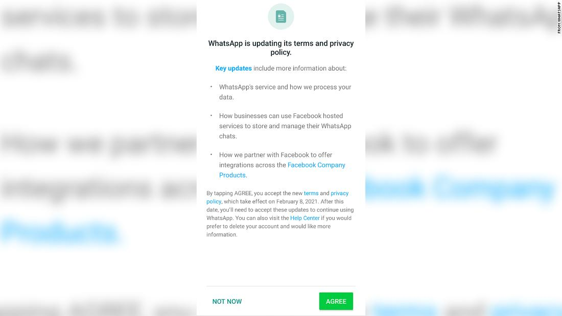 WhatsApp delays new privacy policy as users flee to rival apps