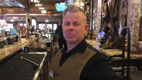 Brandon Geyer, a bartender in Las Vegas, said he has been unemployed since March.
