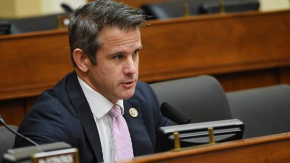 Rep. Adam Kinzinger is seen during a hearing on Capitol Hill in September.