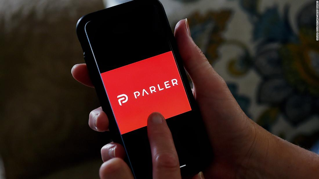 Parler's website is back online with a brief message to 'lovers and haters'