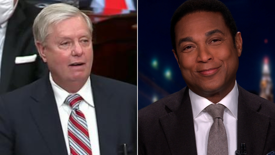 Lindsey Graham/Don Lemon split