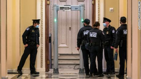 Metal detectors are infuriating lawmakers as some Republicans explode over new measures