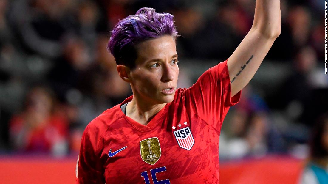 Carli Lloyd, Megan Rapinoe headline US women's Olympic roster