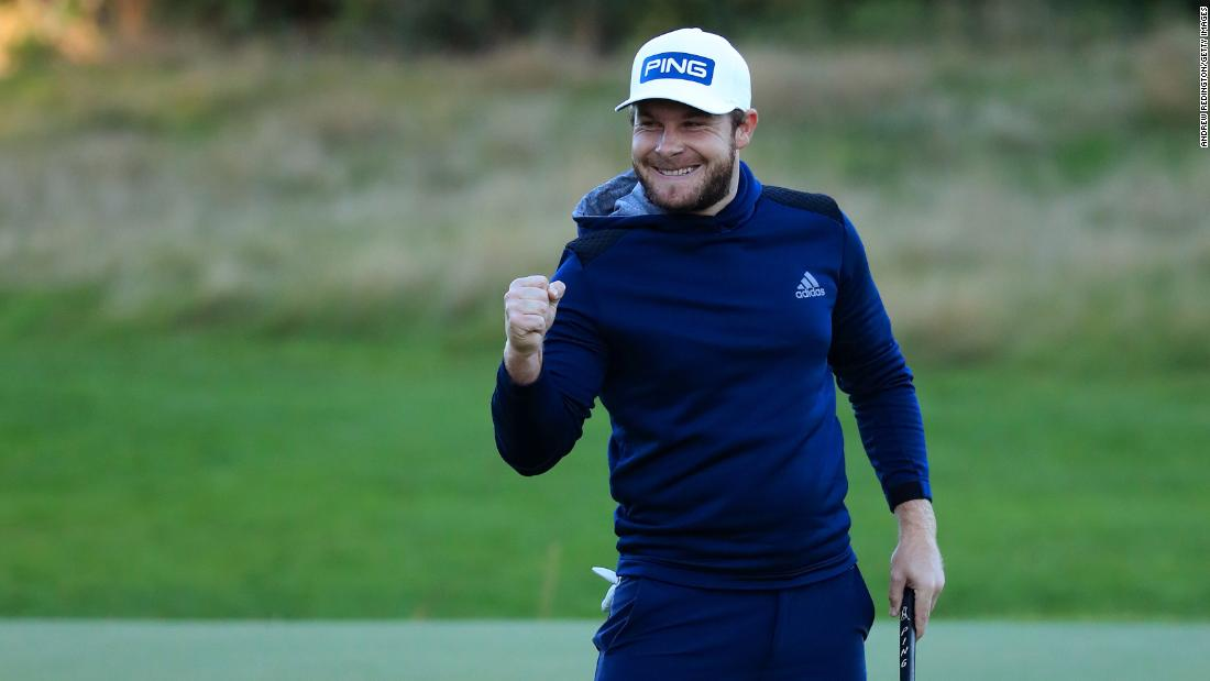 He needed surgery after slipping on straw. Now he's a top 10 golfer