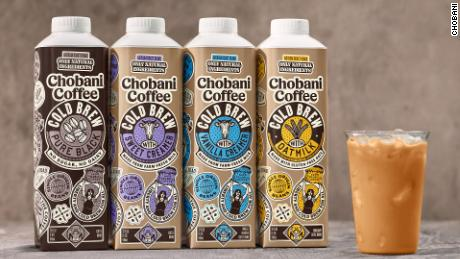 Chobani's ready-to-drink cold brew comes in four flavors.