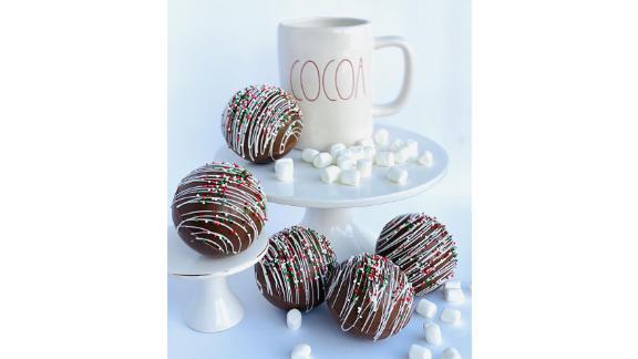 ChocolatesUnlimited Large Hot Chocolate Bombs, Set of 4
