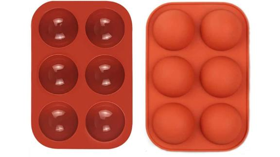 Luofasau 6-Hole Silicone Molds, 2-Pack