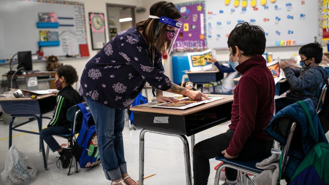 Open a window to reduce virus spread, CDC tells schools