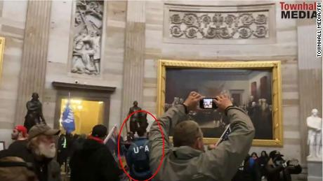 On January 6, Keller was found wearing a US Olympic team jacket in the Capitol as part of the mob.