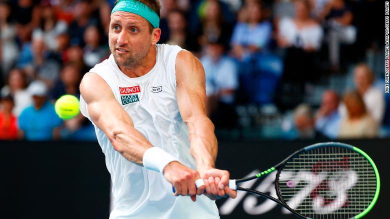 Sandgren reached the quarterfinals at last year's Australian Open.