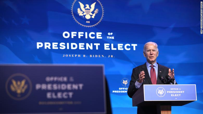 Biden on track to take office without key Cabinet roles in place