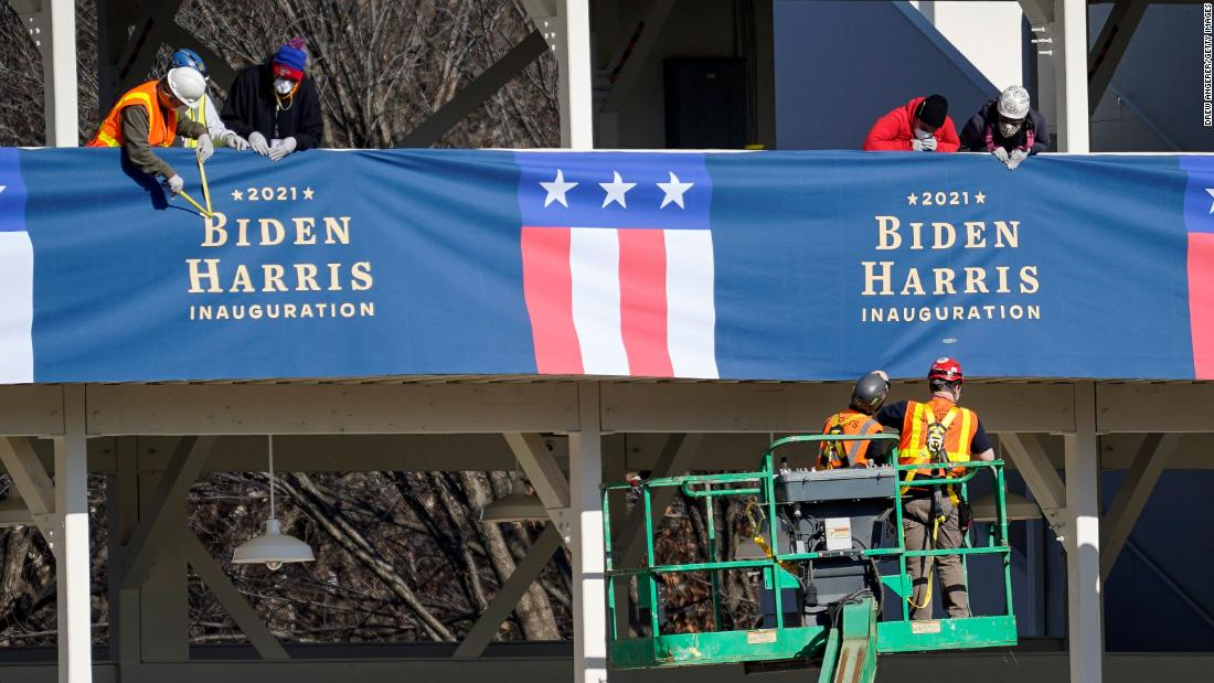 Analysis: Biden's inauguration is taking shape. Here's what to know.
