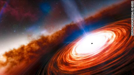 El cuásar y el agujero negro supermasivo más antiguo descubierto en el universo distante
