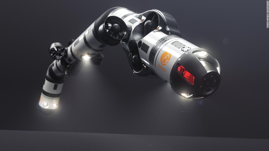 This 'snake robot' can fix pipelines on the ocean floor