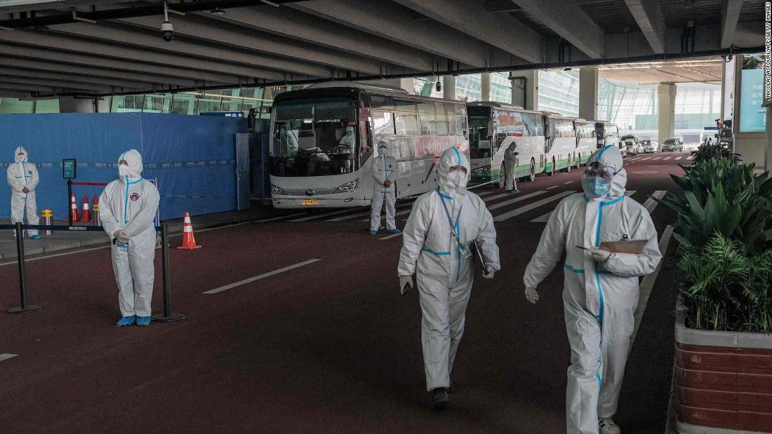 Two members of WHO team blocked from entering China over failed coronavirus antibody test