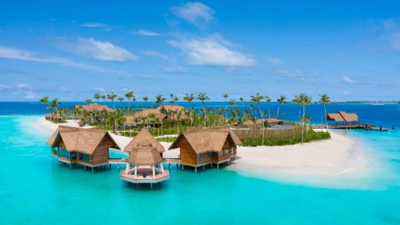 <strong>Overwater spa:</strong> The island's overwater spa is staffed by a dedicated wellness concierge who can provide customized treatments.