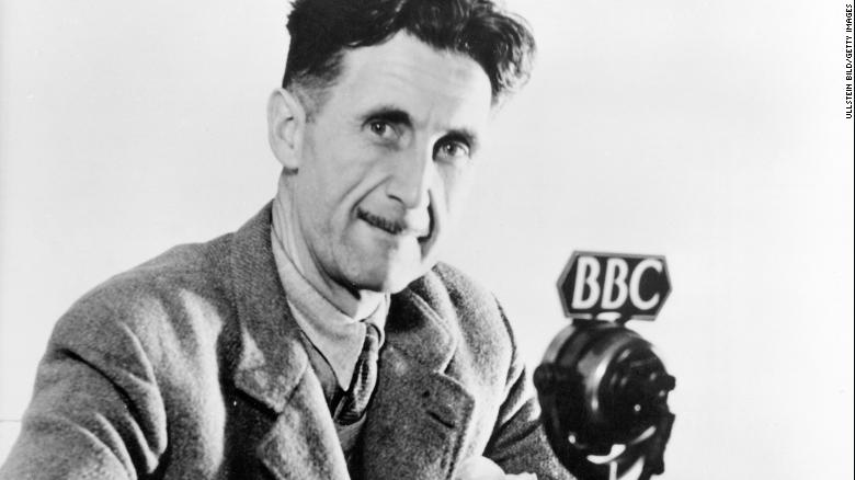 Why the right and left both want George Orwell on their side