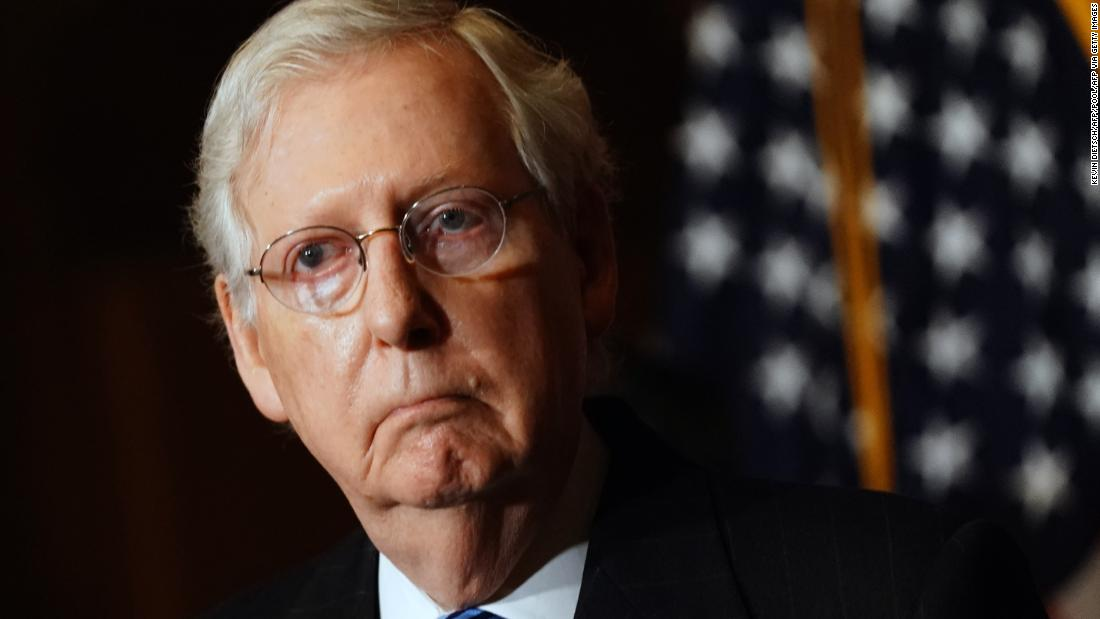 Mitch McConnell: Capitol Hill mob was 'provoked' by Trump