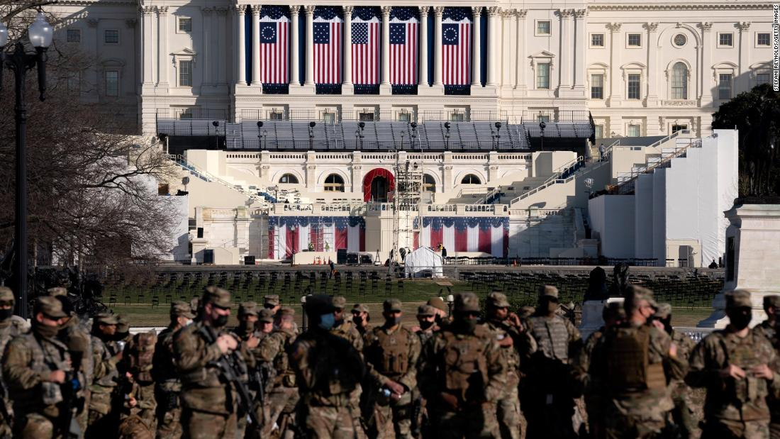 'Armed protests' warning puts officials on alert this weekend ahead of Biden inauguration