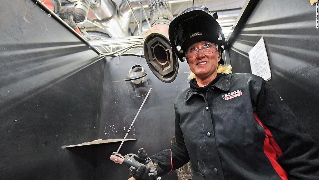 Women introduced to welding as a career through free workshop
