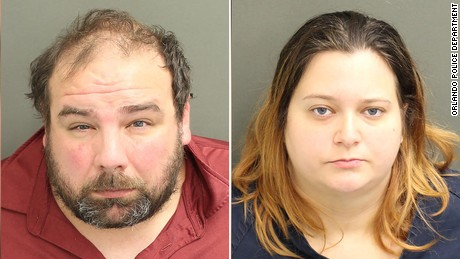 Timothy Wilson II and Kristen Swann were arrested on allegations of child abuse.