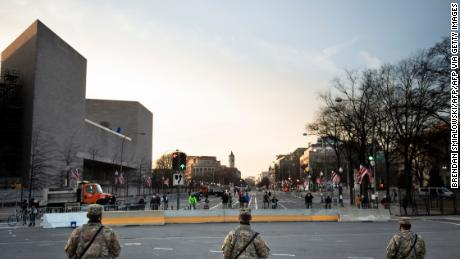 Pentagon authorizes 25,000 National Guard members for inauguration