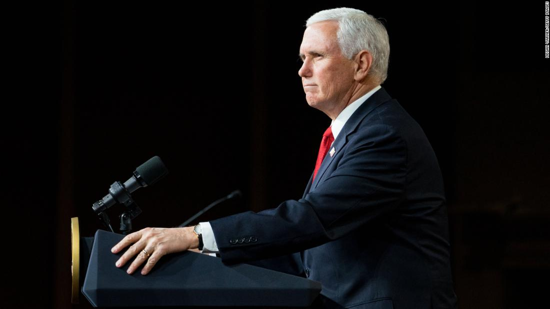 Pence pushes false election fraud claims in denouncing Democratic reform bill