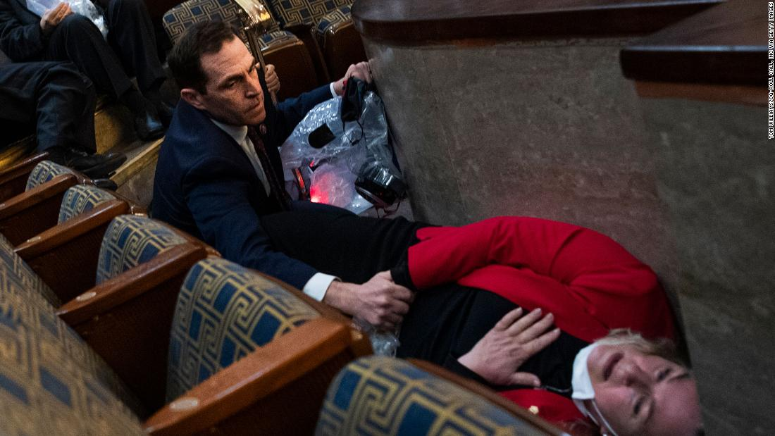 A combat veteran thrust back into action during the Capitol attack grapples with what's next